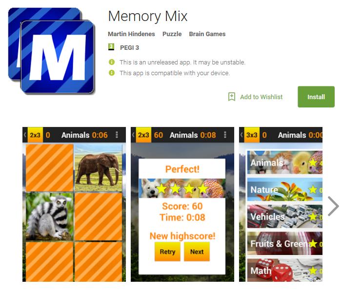 Memory Mix